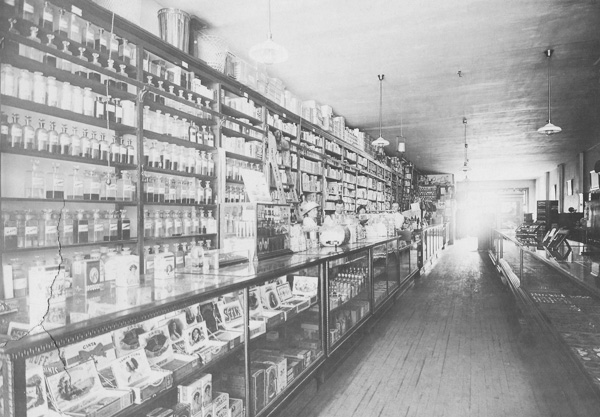Benson Drug Company Inside Store