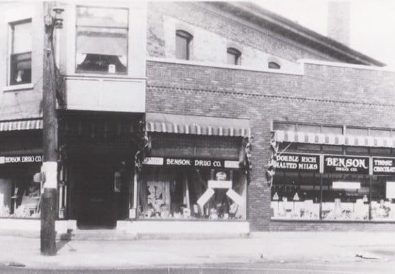 Benson Drug Company Muskegon Storefront