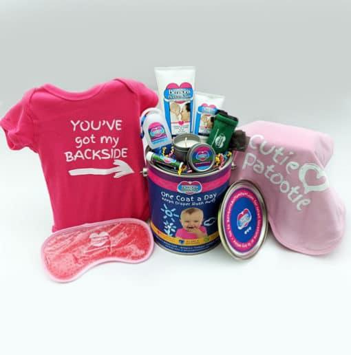Baby Girl Gift Bucket