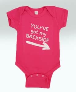 Bensons Baby Girl Hot Pink Onsies
