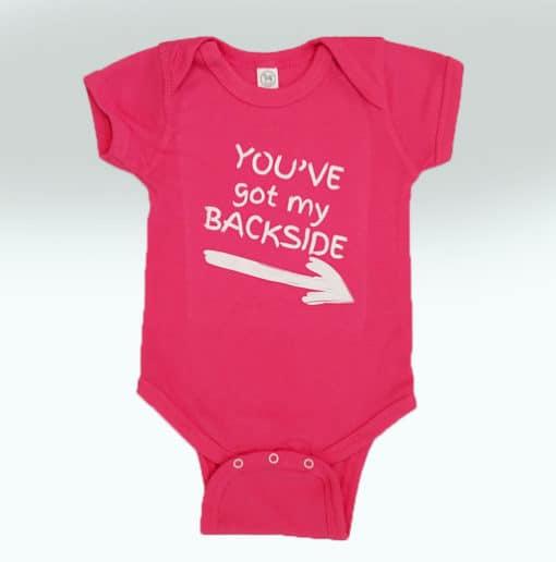 Bensons Baby Girl Hot Pink Onsies